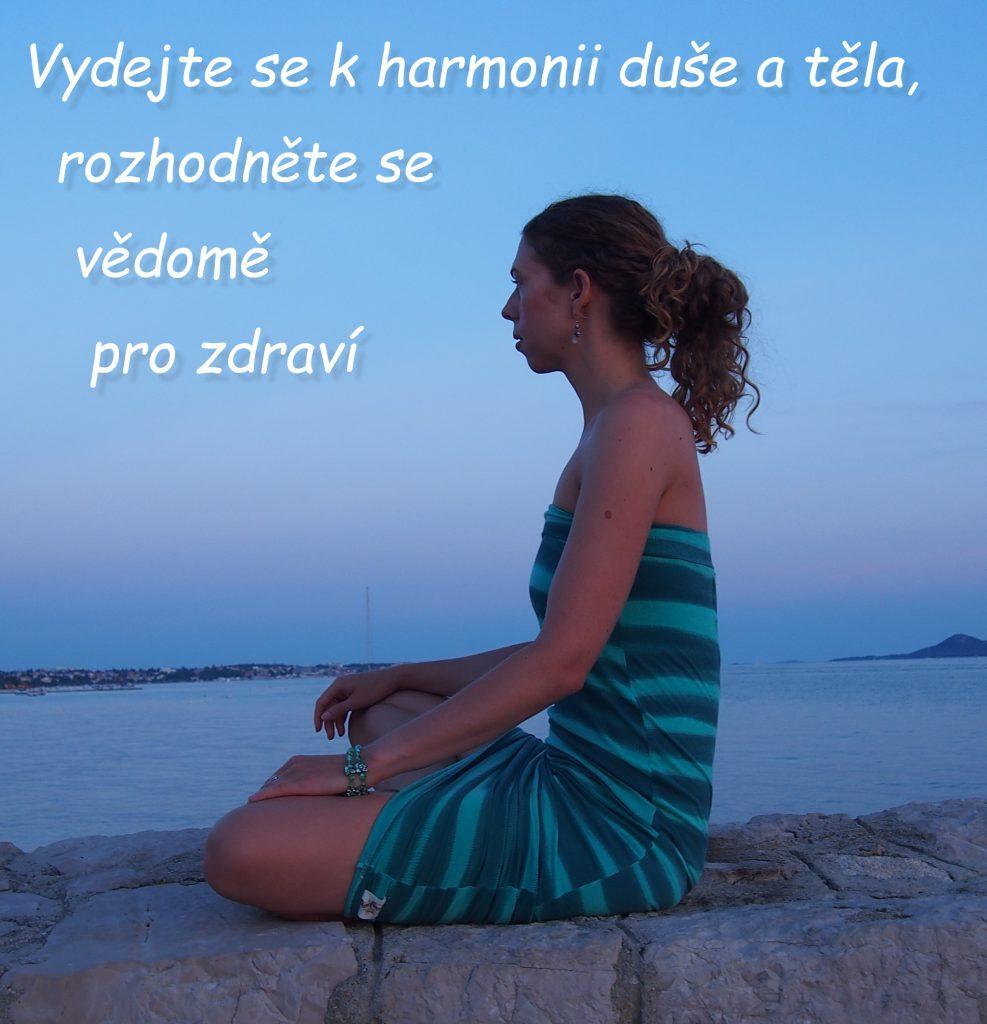 Homeopatie harmonizuje tělo a duši.